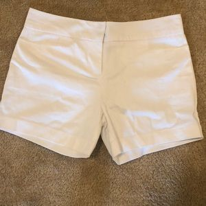 White The Limited shorts.